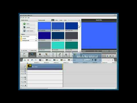 How to fade-in and fade-out video using AVS Video Editor?