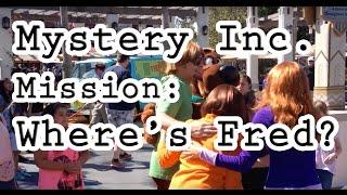 Scooby-Doo, Daphne, Velma, & Shaggy at Universal Studios Hollywood