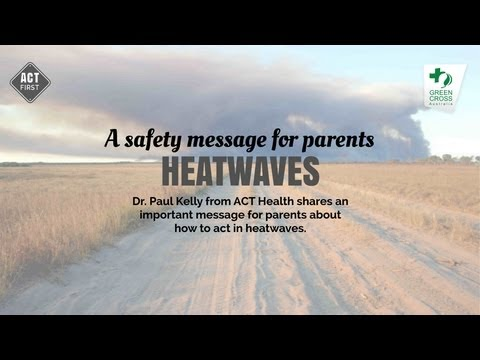 A safety message for parents