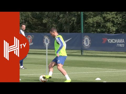Chelsea Train Ahead Of Europa League Final!