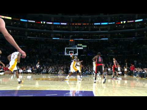 ross - Terrence Ross heaves to beat the halftime buzzer and sinks the long ball. Visit nba.com/video for more highlights. About the NBA: The NBA is the premier prof...