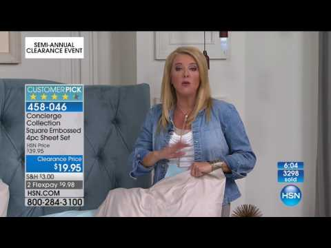 HSN | Bedding Clearance 06.16.2017 - 10 PM