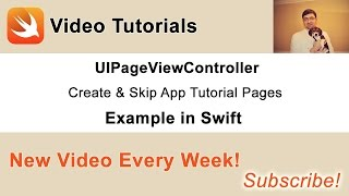 In this video tutorial I am going to share with you how to skip app tutorial page and remember user's choice, so that app tutorial is not shown then next time user starts the app. Source code of this project and a video on how to user UIPageViewController to create App Tutorial you can get here: http://www.swiftdeveloperblog.com/uipageviewcontroller-create-and-skip-app-tutorial-pages