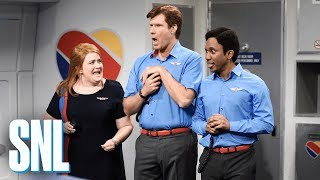 Video Flight Attendants - SNL MP3, 3GP, MP4, WEBM, AVI, FLV Maret 2018