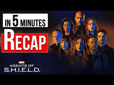 RECAP! In 5 Minutes Agents Of SHIELD: Season 1 - 6
