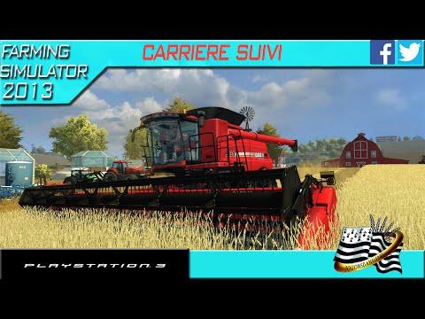 farming simulator 2013 PS3 EP39 carrière suivi map américaine