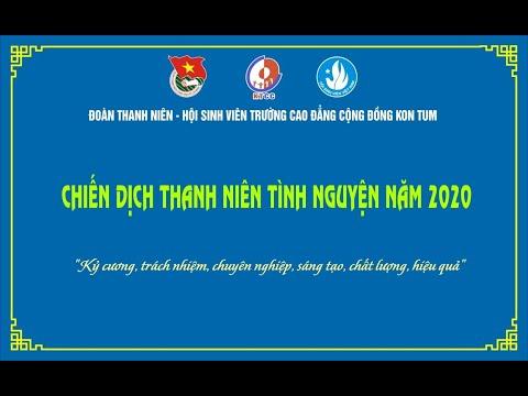 Chiến dịch thanh niên tình nguyện năm 2020 của Tuổi trẻ Trường Cao đẳng Cộng đồng Kon Tum