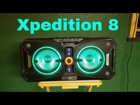 Altec Lansing Xpedition 8 FULL Review