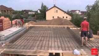 Этапы строительства коттеджа
