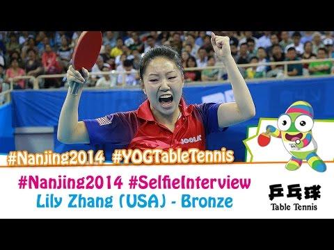 #Nanjing2014 Selfie Interview – Lily Zhang (Bronze medal match)