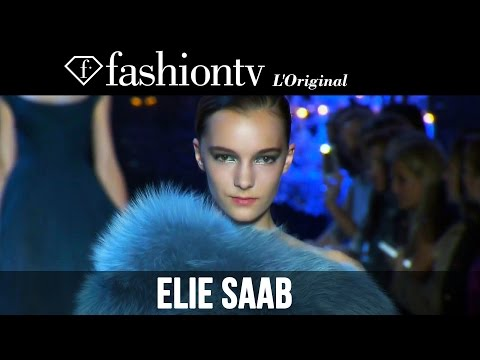Fashion TV - http://www.FashionTV.com/videos PARIS - Elie Saab dazzles us with a runway full of red carpet looks at Paris Couture Fashion Week Fall/Winter 2014-15. For fr...