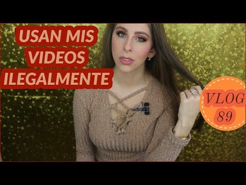 Modelos de uñas - USAN mis VIDEOS ILEGALMENTE + DENUNCIA + MUESTRO LOS MENSAJES+ Uñas de gel en CASA + VLOG 89