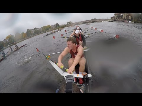 Row It like you Stole It: Head of the Charles 2016 (Coxswain View)