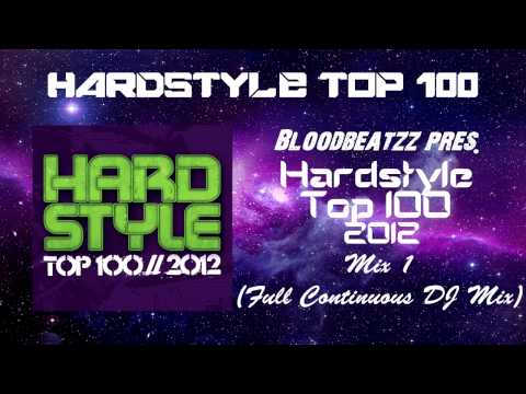 Hardstyle Top 100 2012 CD-1 (Full Continuous DJ Mix)