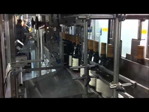 Eagle Type 3-Case Packer Wine Filling Line