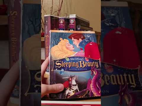 7 different versions of sleeping beauty