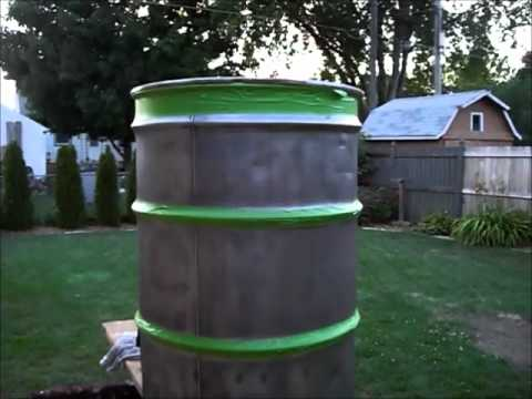 Smoker - In this video we build a smoker for BBQ using a 55 gallon drum and some pipe. Commonly called a VDS (Verticle Drum Smoker) or a UDS (Ugly Drum Smoker) This s...