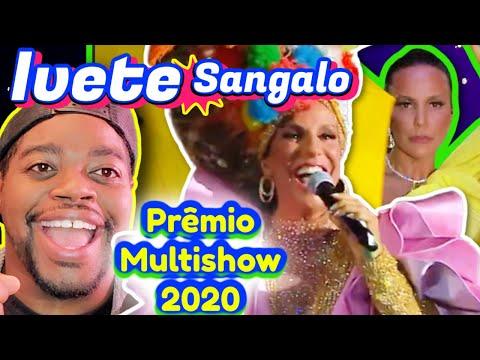 Ivete Sangalo - Prêmio Multishow 2020   REACTION   Maikuniverse