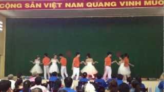 Khiêu Vũ Cha Cha Cha - THPT Nguyễn Đình Chiểu (Vũ Điệu Tôi Yêu 2013)