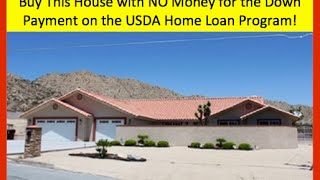 Yucca Valley (CA) United States  City new picture : Buy this House in Yucca Valley CA on the USDA Home Loan Program