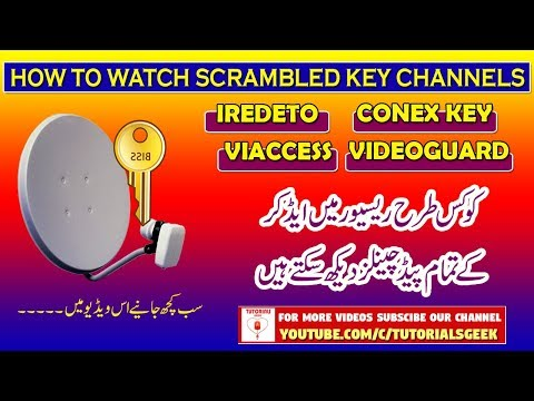 What are Conex,Video Guard,Iredeto & Viaccess Keys?