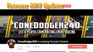 https://www.patreon.com/ConeDodger240