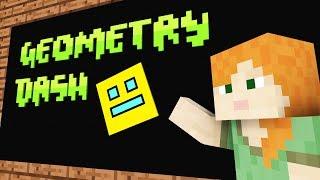 Video Monster School: Geometry Dash -- Cubic Minecraft Animation MP3, 3GP, MP4, WEBM, AVI, FLV Juli 2018
