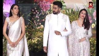 Video Aishwariya Rai, Abhishek Bachchan, Karishma Kapoor At Sonam Kapoor's Wedding Reception MP3, 3GP, MP4, WEBM, AVI, FLV Juni 2018