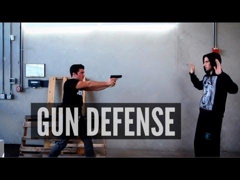 How to Disarm a Gunman