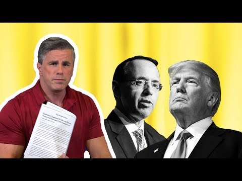 Tom Fitton: Did Rod Rosenstein Want to Remove Trump? Deep State Active in Resisting President (видео)