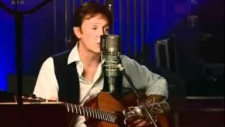 Paul McCartney - Blackbird (Abbey Road studio LIVE)