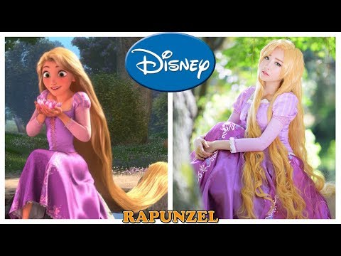 100 Disney Characters in Real Life