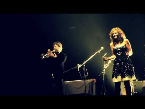 The lovely Abigail Washburn and Kai Welch live Naked Song Festival '12.
