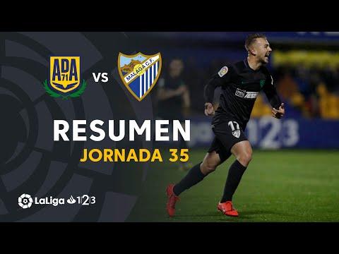 Resumen de AD Alcorcón vs Málaga CF (1-4) видео