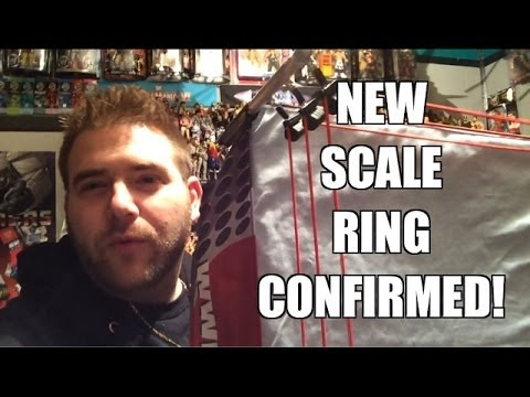 A NEW WWE Full SCALE Ring is BEING MADE!