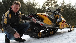 5. Changing a Snowmobile Track