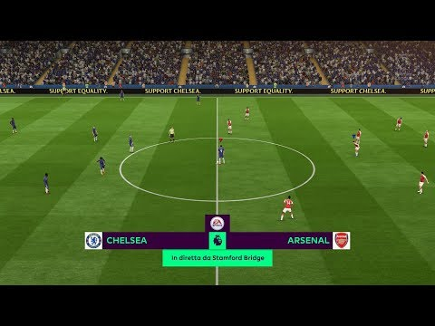 Chelsea Vs Arsenal | Premier League 18/08/2018 - FIFA Predict