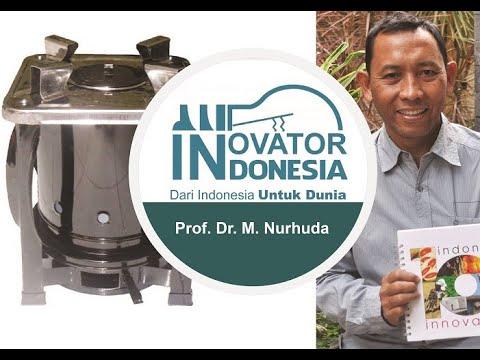 Kompor Biomassa - Dr. M. Nurhuda