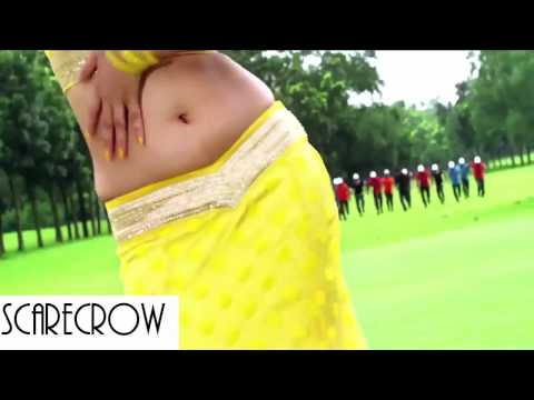 Hot Porimoni navel show Bangladeshi actress