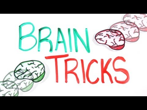 Tricks - Get the book: http://amzn.to/U2MRGI TWEET VIDEO - http://clicktotweet.com/SIfb3 Ever wonder how your brain processes information? These brain tricks and illu...