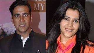 Akki, Ekta Unhappy With The Climax Of 'Once Upon A Time In Mumbai 2'