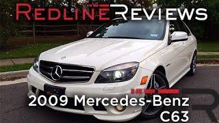 2009 Mercedes-Benz C63 AMG Review, Walkaround, Exhaust&Test Drive