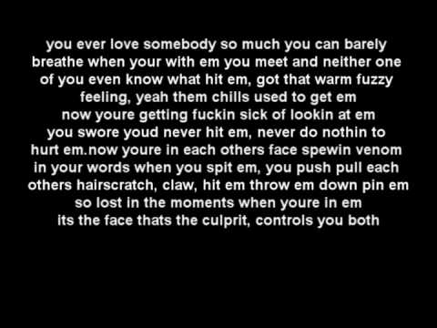 Eminem Ft Rihanna - Love The Way You Lie  LYRICS