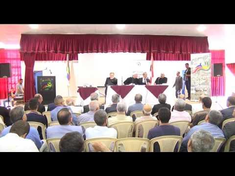 """ندوة اللجنة الدينية في المجلس المذهبي في بلدة شارون بعنوان: """"الانتحار قدر أم قرار"""""""