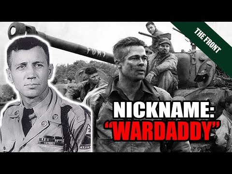 "The Real American Tank Commander who inspired the movie ""Fury"" [1000+ KILLS]"