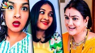 Video വൈറലായി ഉർവശിയുടെ മകളുടെ ഡബ്സ്മാഷ് | Urvasi -Manjoj K Jayan  Daughter Dubsmash | Tejalekshmi MP3, 3GP, MP4, WEBM, AVI, FLV Maret 2019