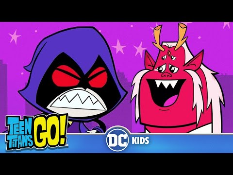 Teen Titans Go! | Be More Like Your Dad Raven | DC Kids