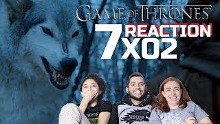 "GAME OF THRONES SEASON 7 EPISODE 2 REACTION ""STORMBORN"" (7x02) Reação do episódio 2 da 7 Temporada de..."