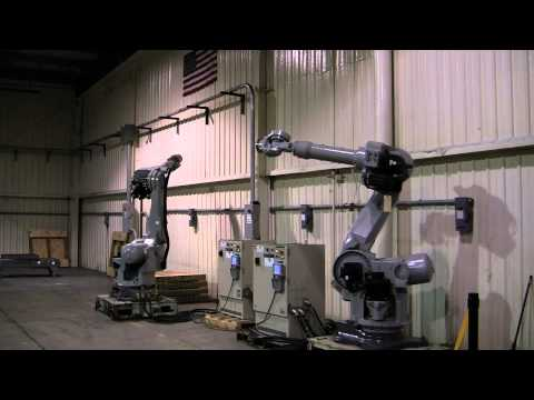Motoman UP130 and UP165 Robot Arms