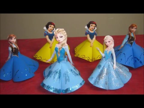 Video Como Fazer Lembrancinha Tubete da Elsa Frozen, Anna Frozen e Branca de Neve Passo a Passo download in MP3, 3GP, MP4, WEBM, AVI, FLV January 2017